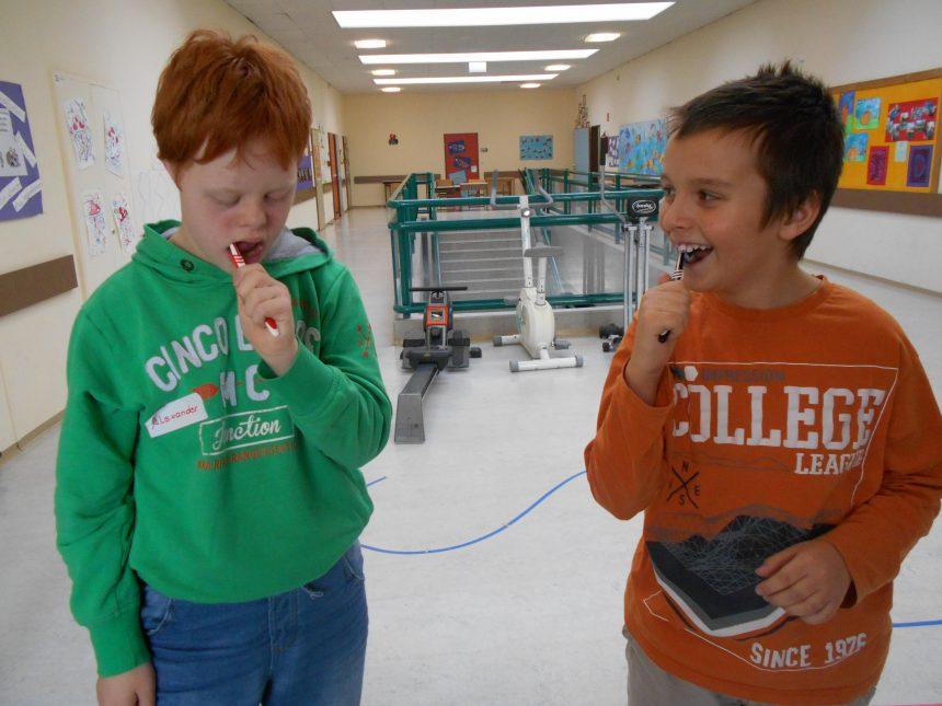 Zahngesundheits-erziehung