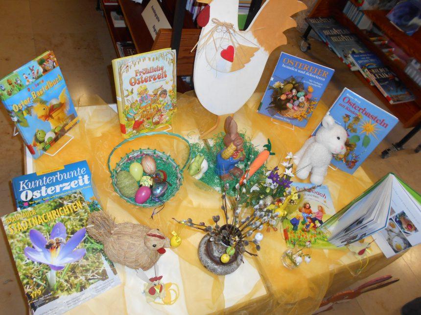 Osterlesung in der Stadtbücherei